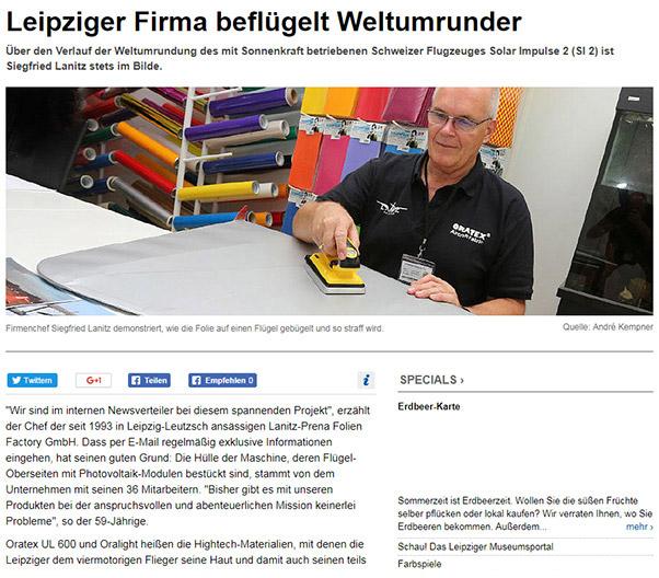 Lanitz Prena Folien Factory GmbH - Presse