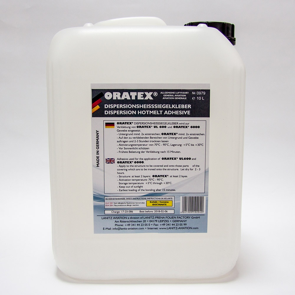 ORATEX Dispersion hotmelt adhesive (10 l)