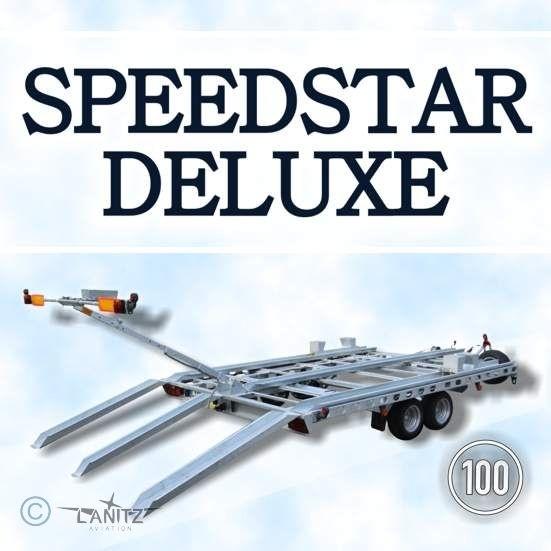 offener Aircraft Trailer, gebremst: Speedstar Deluxe