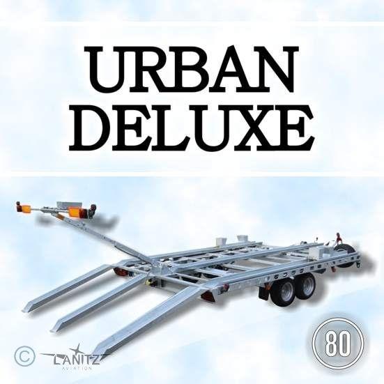 offener Aircraft Trailer, gebremst: Urban Deluxe