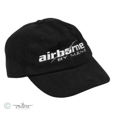 Basecap airborne schwarz