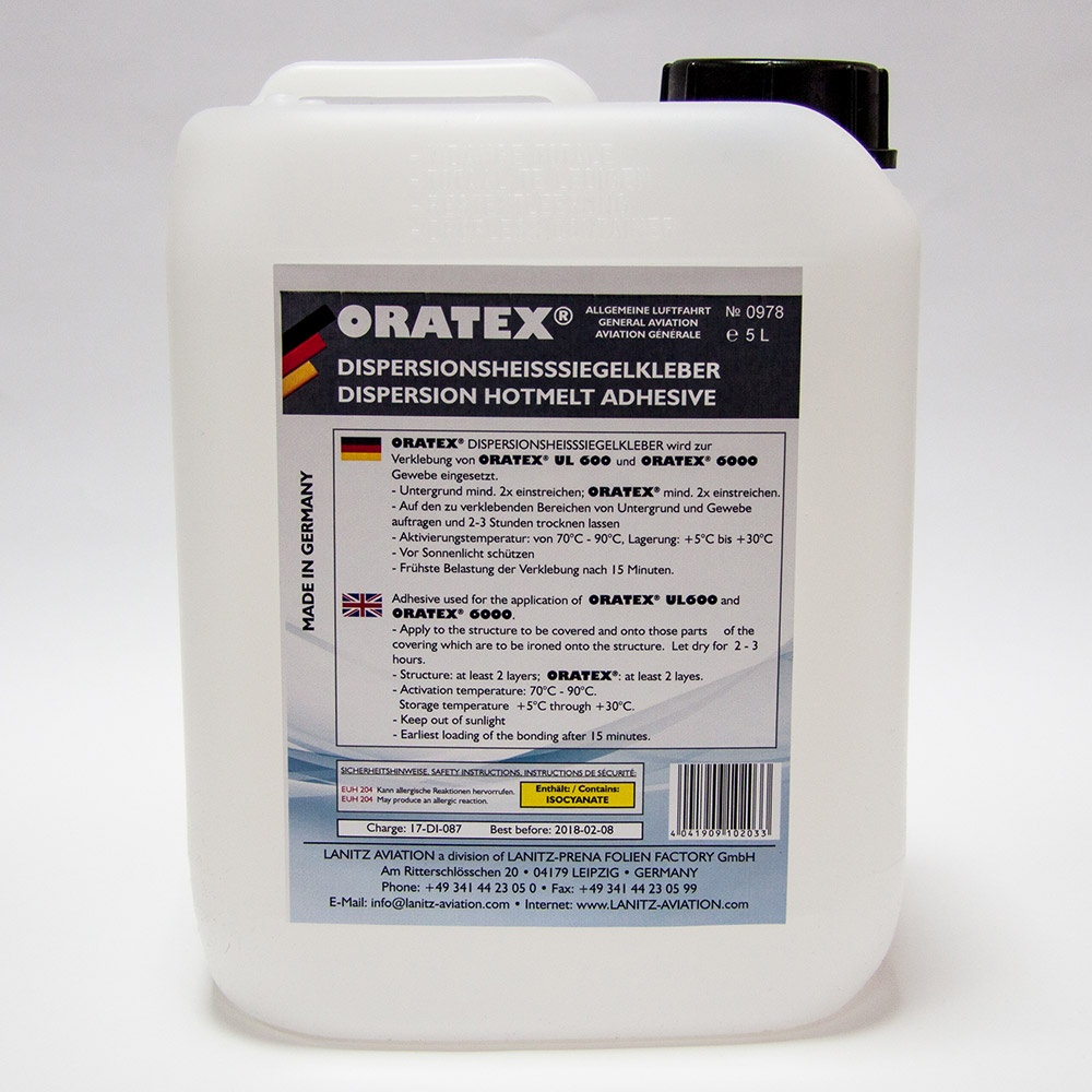 ORATEX Dispersion hotmelt adhesive (5 l)